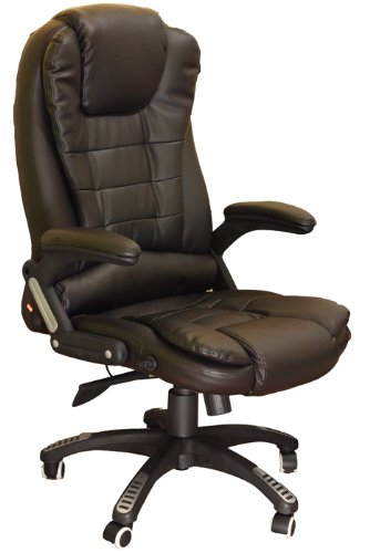 Exectuve Recling Extra Padded Black Office ChairMO17 BK