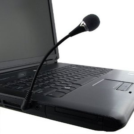 Laptop/Pc/Skype Mini 3.5Mm Flexible Microphone