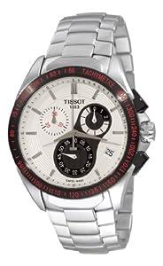 Tissot Men's T0244172101100 Velcro-T Stainless Steel White Dial Watch