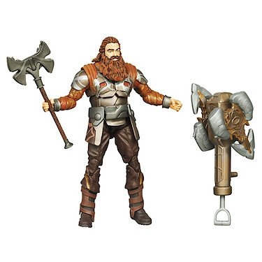 Thor: The Mighty Avenger Action Figure #10 Ram Smash Volstagg 3.75
