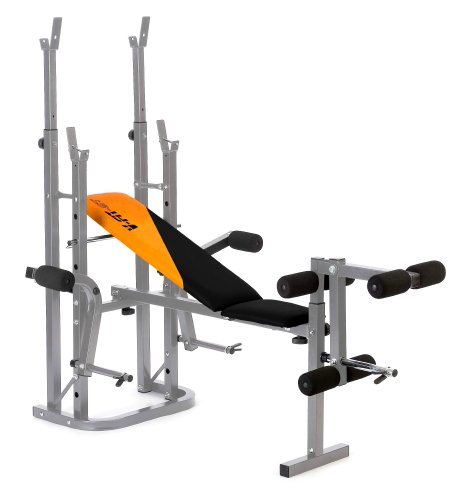 V-Fit STB-09-4 Herculean Folding Weight Training Bench