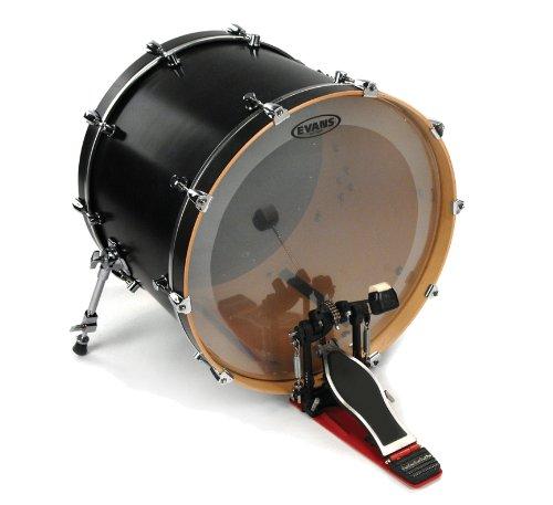 evans eq4 clear bass drum head 24 inch suranononoazaaaz. Black Bedroom Furniture Sets. Home Design Ideas