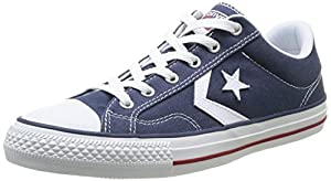 Converse Star Player Adulte Core Canvas Ox - Zapatillas deportivas, unisex, color azul (bleu (10 marine/blanc)), talla 41