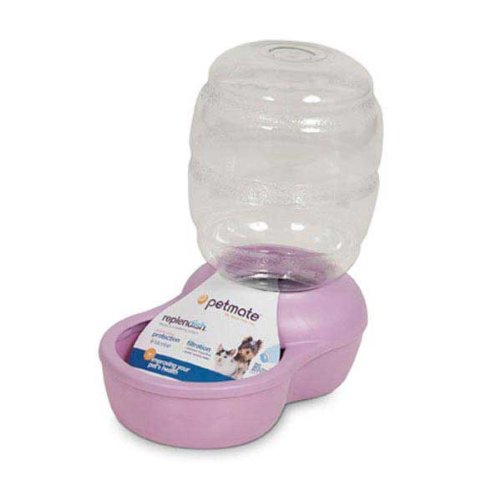 Petmate-Replenish-Pet-Waterer-with-Microban-12-Gallon-Pearl-Lady-Pink