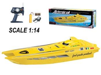 RC Miami Vice Admiral Racing Boat