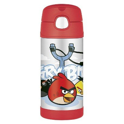 Thermos Funtainer Bottle Angry Birds 12 Ounce front-1064550
