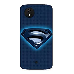 Blue Day Multicolor Back Case Cover for Micromax Canvas A1