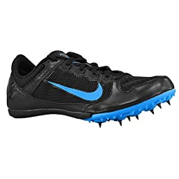 Nike Zoom Rival MD 7 Unisex Track Spike Running Shoe (Men 9 Women 10.5, Black/Photo Blue)