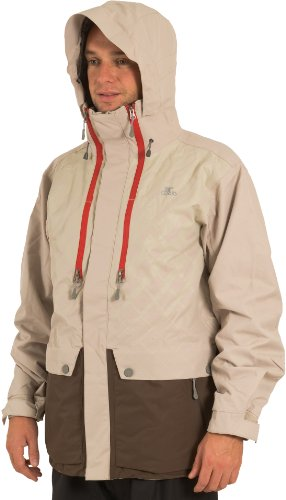 Ripcurl Elias Men's Snow Jacket - Taupe, Medium