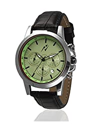 Yepme Mens Chronograph Watch - Green/Black_YPMWATCH5240