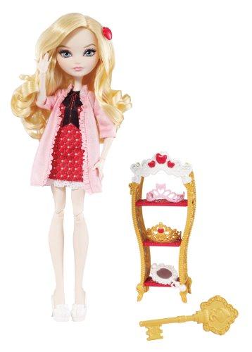 Mattel Ever After High BDL39 - Herzenstag Apple White, Puppe
