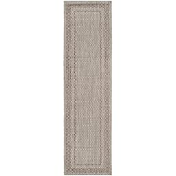 Safavieh Courtyard Collection CY8477-36312 Beige and Brown Indoor/ Outdoor Runner, 2 feet 3 inches by 8 feet (2\'3\