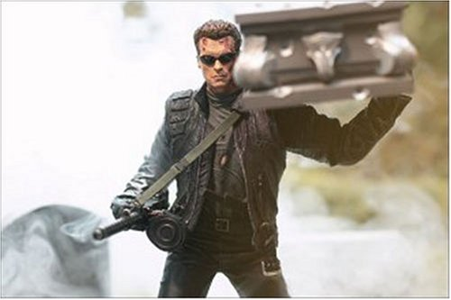 Picture of McFarlane T3: Rise of the Machines T-850 Terminator with Coffin Action Figure (B00009QOQJ) (McFarlane Action Figures)