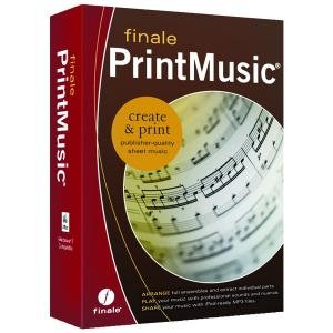 New Finale Mme00195 Finale Printmusic 2011 Human Playback 128 Professional Grade Instrument Sounds