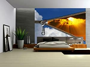 Wallpaper mural 39 39 supernova 39 39 fleece photo wallpaper wall for Amazon mural wallpaper