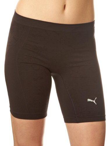 Puma Women's Active Shorts- Black, Size 8