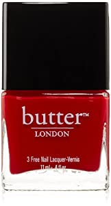 butter LONDON Nail Lacquer, Red Shades, Come To Bed Red