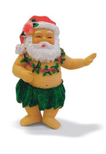 Island Heritage Hula Santa Ornament
