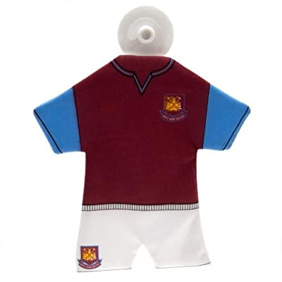 West Ham Mini Kit Hanger Official Football Souvenir Car Accessory Gift