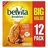 Belvita Breakfast Honey & Nuts Biscuits X 12 Pack 600G