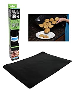 Non-Stick Baking Sheet - Rollable Baking and Grilling Sheet - Dishwasher Safe &... by Camerons Products