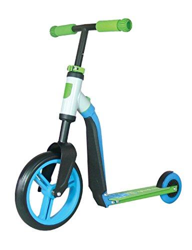 Authentic Sports & Toys, Monopattino bambini, modello Highwaybuddy, Blu (Blau/Grün)