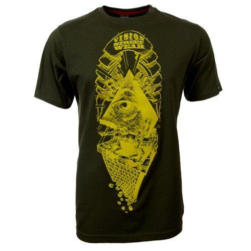 Vision Street Wear Pyramyd T-Shirt , beetle