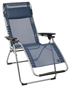 Lafuma Futura Clipper Mesh Outdoor Recliner, Ocean