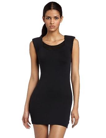 女士服装推荐:(晚礼)David Lerner Women's Shoulder Yoke Dress $76.72