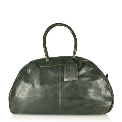Chicago Reisetasche von Cowboysbag in Grün