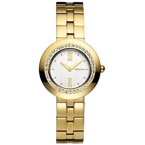 RODANIA SHINE 24881-60 31mm Gold Steel Bracelet & Case Mineral Women's Watch