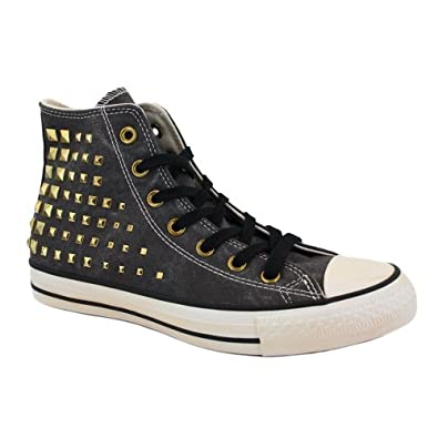 Buy Converse Chuck Taylor Studded Collar 540366C Ladies Laced Canvas Trainers by Converse