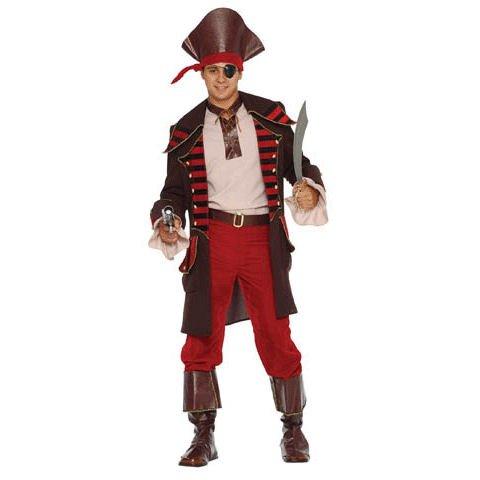 Medium Men's Pirate Halloween Costume