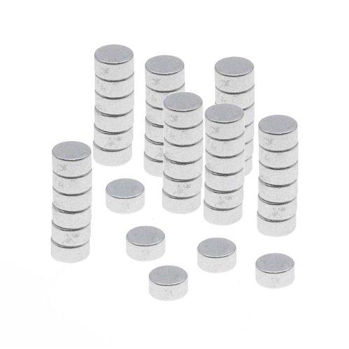 Tiny Craft Hobby Neodymium Rare Earth Super Magnets 1/8 X 1/16 In. (3X1.5Mm) (X50)