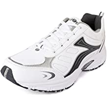 Action Shoes Action Sports Men Sports Shoes Ly-68-White-Grey