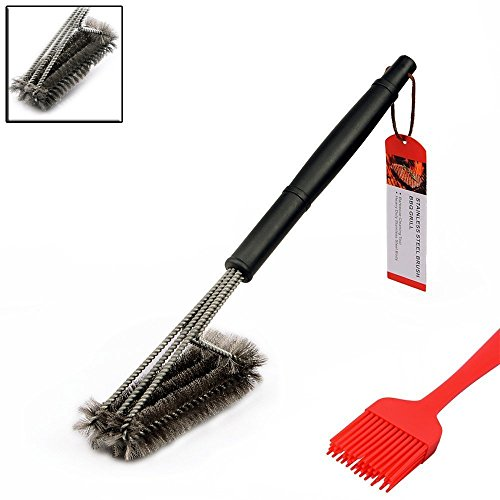 Ledertek Bbq Grill Brush Best Cleaning Tools For Big Green