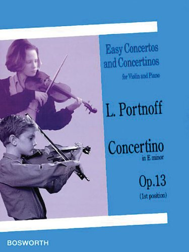 Concertino in E Minor, Op. 13 (Easy Concertos and Concertinos for Violin and Piano)