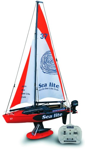 Sea lite remote control sailing yacht
