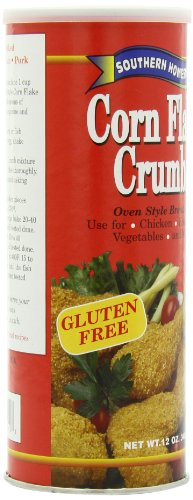 Southern Homestyle Corn Flake Crumbs, Gluten Free, 12-Ounce Cans (Pack ...