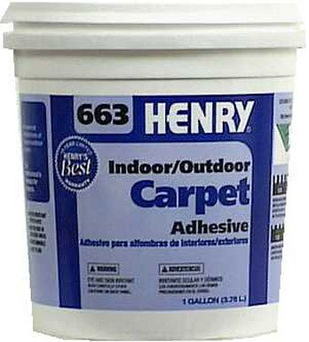 Outdoor Carpet Adhesive, 1 Gal