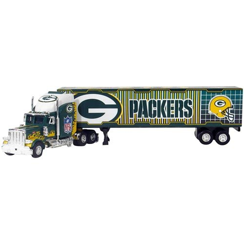 Fleer Collectibles Green Bay Packers Tractor Trailer