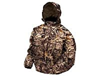 Frogg Toggs Pro Action Camo Rain Jacket Max 4 HD Extra Large XL PA63102-55XL from Frogg Toggs