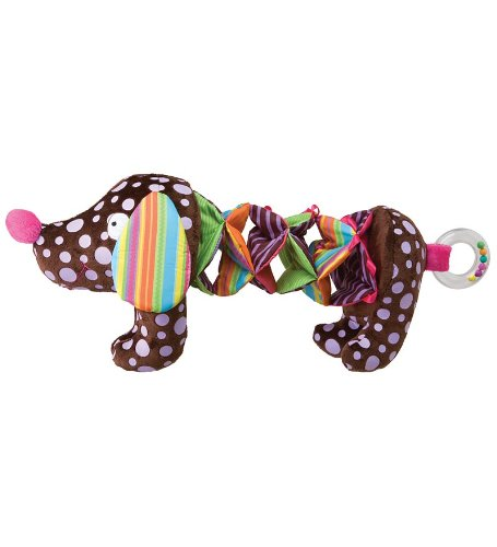 Alex Toys Stretchy Puppy with Crinkly Body, Rattle and Squeaker - 1