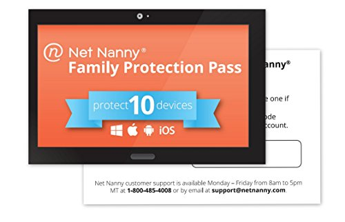 Net Nanny 10-Device Family Protection Pass - Parental Control Software and Internet Filter for Mobile and Social Media (Ios Software compare prices)