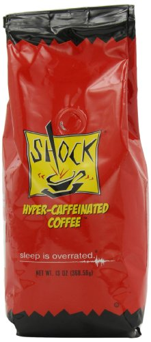 Shock Hyper-Caffeinated Ground Coffee