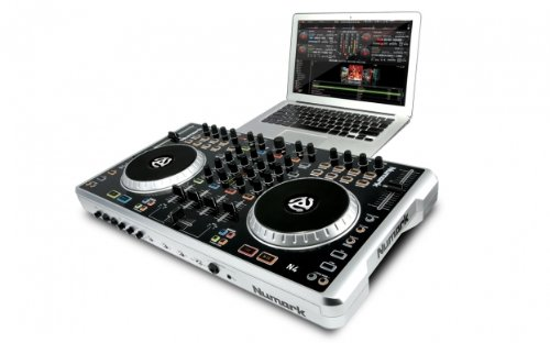 Review Numark N4 4-Deck Digital DJ Controller And Mixer