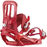 Salomon Rhythm Snowboard Bindings, Red - Large