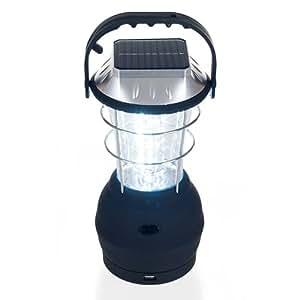USA Wholesaler - 75-SL126 - Whetstone 36 LED Solar and Dynamo Powered Camping Lantern w/ USB Out