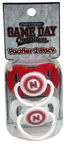 NCAA Nebraska Cornhuskers Infant Pacifier - 1