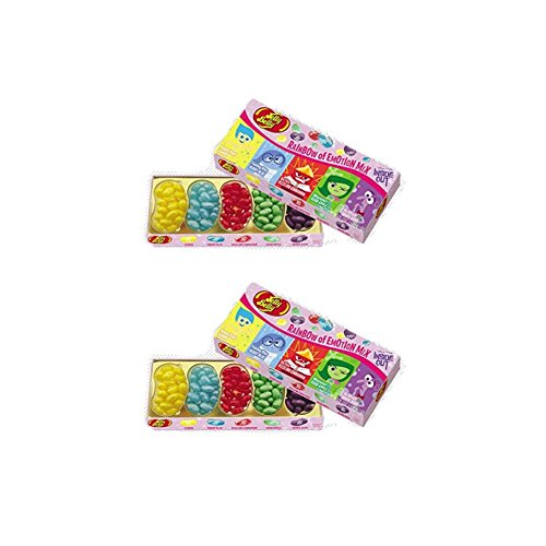 Disney Inside Out Rainbow of Emotion Mix- 4.25 oz Gift Box (Pack of 2) (Rainbow Jelly compare prices)
